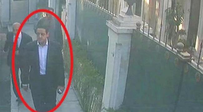 Suudi Prensin yardımcısı, Kaşıkçıdan saatler önce konsolosluğa girmiş