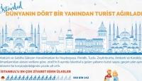 İstanbul Dünyanın Dört Bir Tarafından Turist Ağırladı