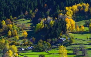 Karçal Dağlarında sonbahar güzelliği
