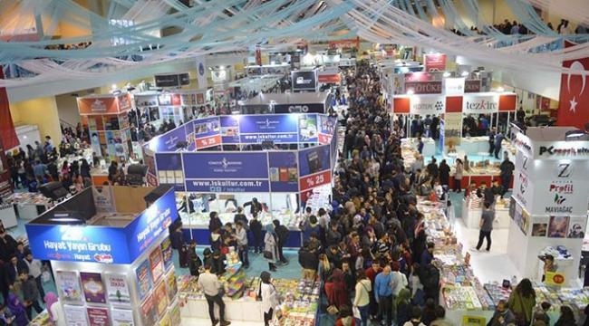 Kayseri Kitap Fuarını 5 günde 400 bin kişi ziyaret etti