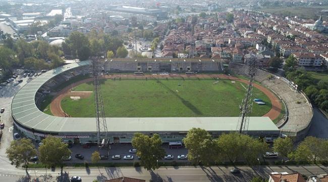 Sakarya Atatürk Stadyumu millet bahçesine dönüşüyor