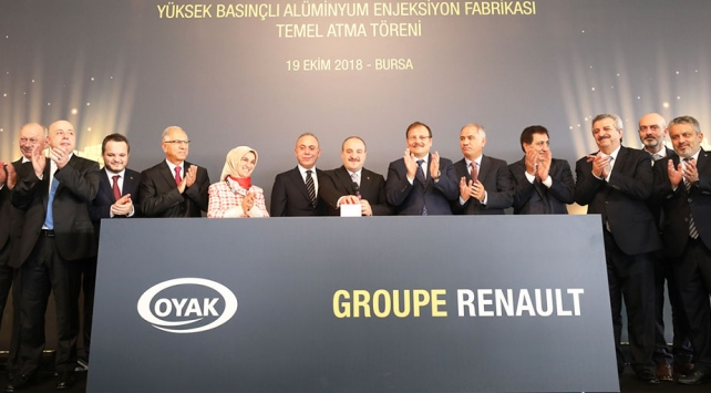 Renault'dan Bursa'ya 100 milyon euroluk yatırım