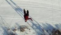 120 Metre Yükseklikten Yere Çakıldı, Ölmedi