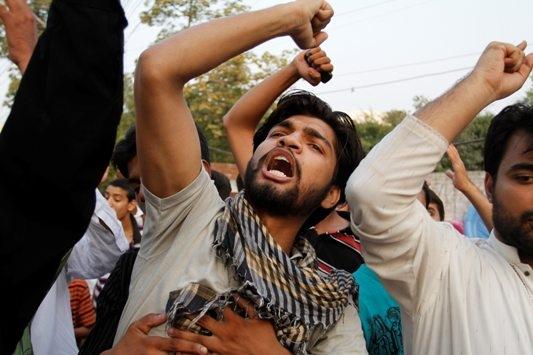 Pakistanda NATO Protestosu