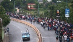 Hondurastan ABDye göçmen akını sürüyor