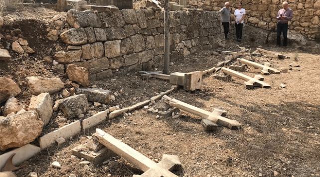 Kudüste Hristiyan mezarlığına saldırı düzenlendi