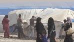 Rakka halkı çadır kentlerde kışa hazırlanıyor