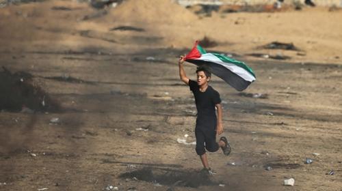 """Filistinliler """"Büyük Dönüş Yürüyüşü"""" için toplanmaya başladı"""
