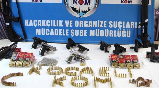 Kocaeli merkezli yasa dışı silah ticareti operasyonu