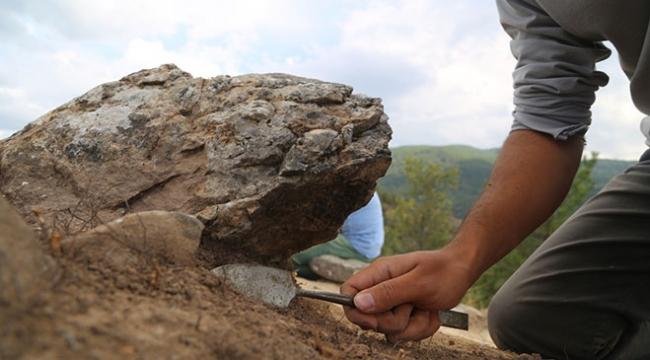 Karadeniz Bölgesinde ilk kez bir taş işlik alanına rastlandı