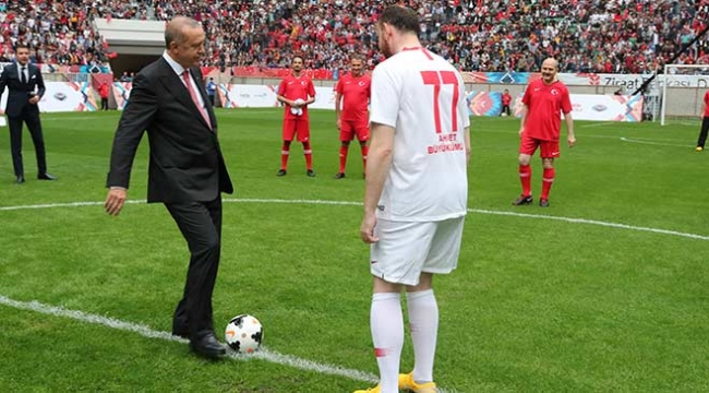 Diyarbakırda Şöhretler Karması maçı heyecanı