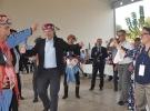 AB büyükelçileri Aydın'da zeybek oynadı