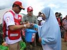 Türk Kızılayından Endonezyalı afetzedelere yardım