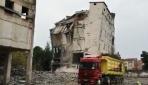 Bursa İnegölün ilk fabrika binasının yıkımı TRT Haber kameralarına yansıdı