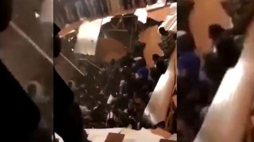ABDde parti verilen evde zemin çöktü: 30 kişi yaralandı