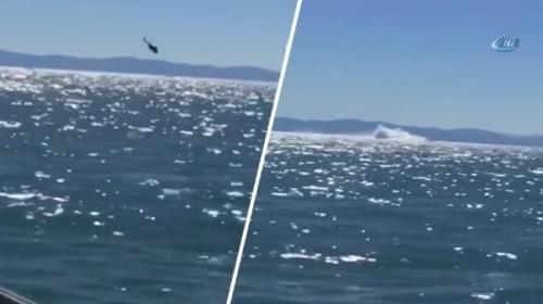 Meksikada helikopter denize çakıldı