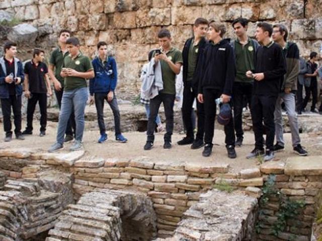 Antalyalı öğrenciler tarihi yerinde öğrenecek