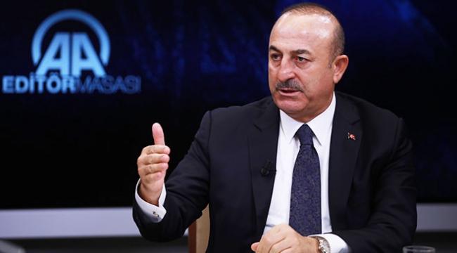 Bakan Çavuşoğlu: ABD ile ilişkiler YPG/PKK ve FETÖ yüzünden gerildi