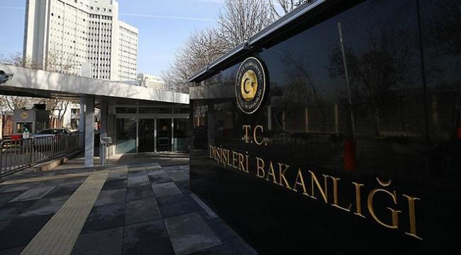 Yunanistanın Ankara Büyükelçisi Dışişleri Bakanlığına çağrıldı