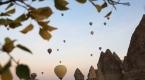 Kapadokyada sonbaharın görsel şöleni