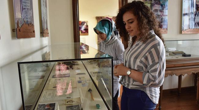 Karadenizli edebiyatçıların hatırası müze kütüphanede yaşatılacak