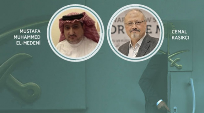 Suudi gazeteci Kaşıkçının dublörü Medeni kim?