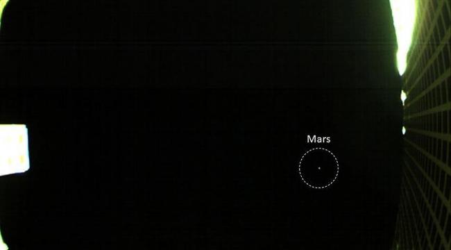 NASAnın CubeStat uyduları ilk Mars fotoğrafını yolladı
