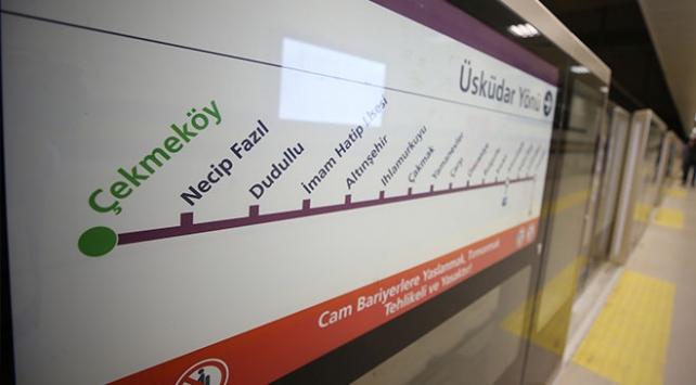 Üsküdar-Çekmeköy metro hattı ilk gün 179 bin yolcu taşıdı