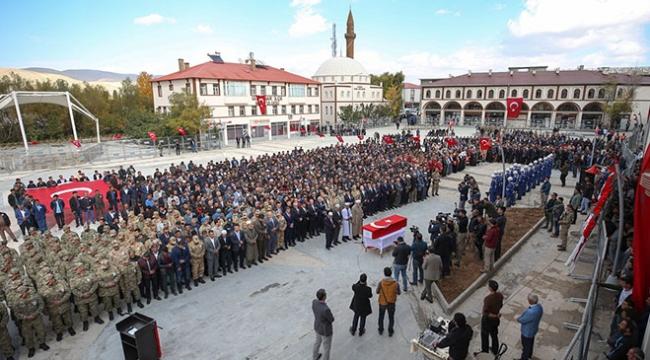 Şehit Onbaşı Sedat Kasap son yolculuğuna uğurlandı