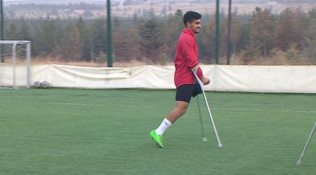 Van depreminden sağ kurtarıldı, ampute futbolla hayata tutundu