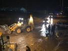 Adıyaman'da şiddetli yağış sele neden oldu