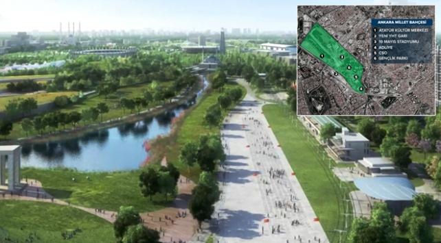 Ankara Millet Bahçesi Avrupanın en büyüğü olacak