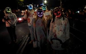 New Yorkta Cadılar Bayramı yürüyüşü