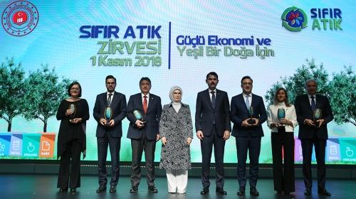 """TRTye """"Sıfır Atık Medya Ödülü"""" verildi"""