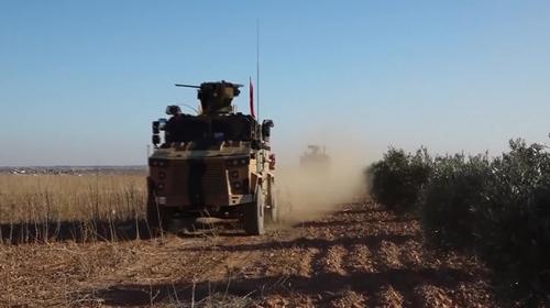 Milli Savunma Bakanlığı ortak devriyenin görüntülerini paylaştı