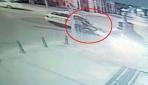 İstanbul Beyoğlunda gasp ettiği turist çifti taksiden attı