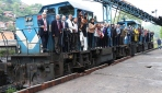 Zonguldakta yıllarca kömür taşıyan raylar turist taşıyacak