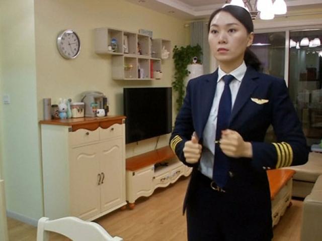 """Çinli pilot gökyüzünde """"cinsiyet eşitliği"""" istiyor"""