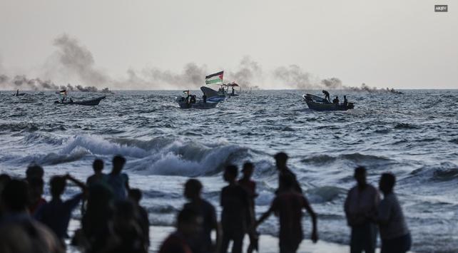 Mısır Gazzede bir balıkçı teknesine ateş açtı: 1 Filistinli hayatını kaybetti