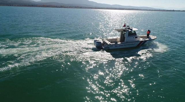 Beyşehir Gölünde yasa dışı avlanma
