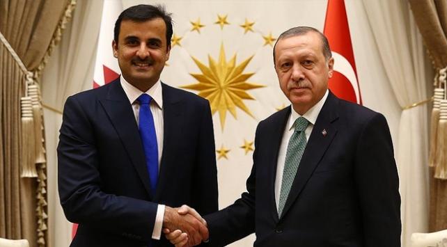 Katar Emiri Al Sani Türkiyeye geliyor