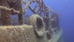Kekova açıklarında antik gemi batıklarından tarihi eser çıkarıldı