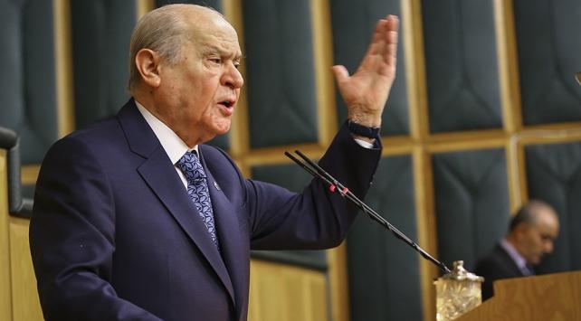 MHP Genel Başkanı Bahçeli: 3 teröristin adres ve koordinatlarını en iyi bilen ABDdir