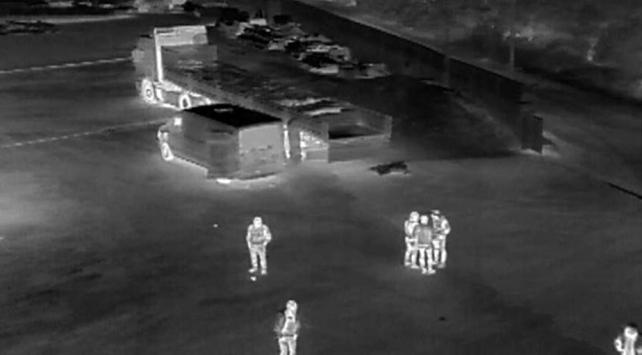 Bursada insansız hava aracı tespit etti: 25 ton kaçak midye ele geçirildi