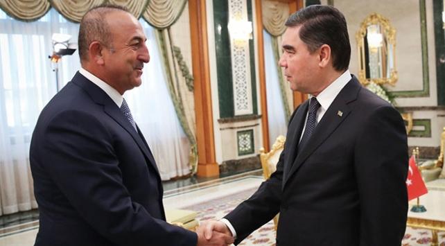 Dışişleri Bakanı Çavuşoğlu Türkmenistanda