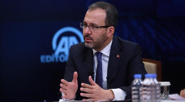 Gençlik ve Spor Bakanı Kasapoğlu, PFDK kararlarını değerlendirdi