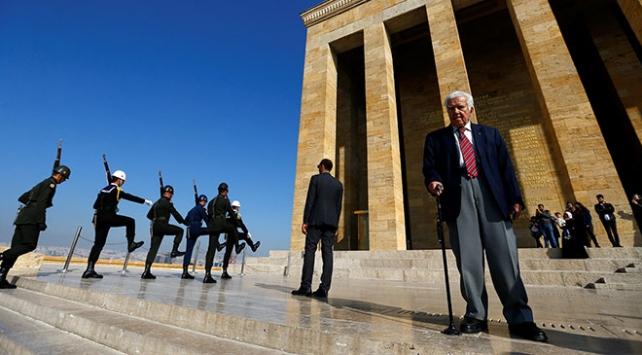 Atatürkün naaşının Anıtkabire taşınmasına şahit oldu