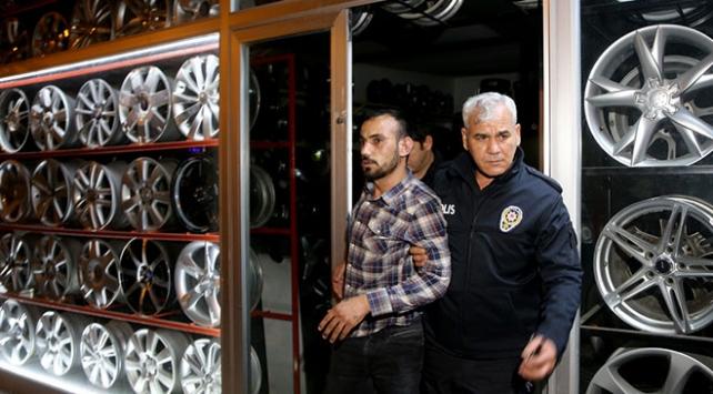 Hırsızlık şüphelisini vatandaşlar yakaladı