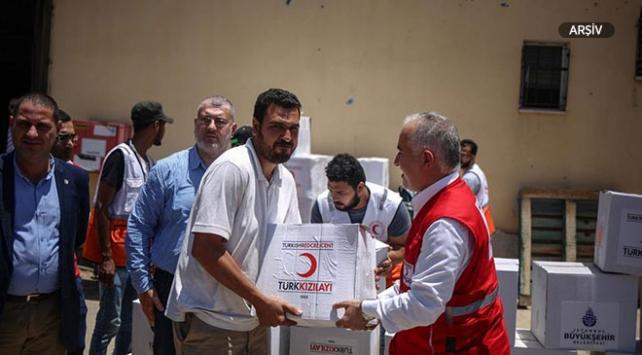 Türk Kızılayından Yemene gıda yardımı