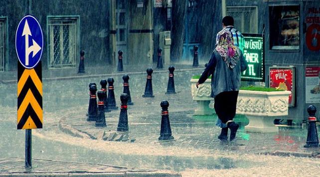 Meteorolojiden Marmara, Akdeniz ve Güneydoğu için yağış uyarısı